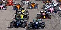 Lewis Hamilton, Valtteri Bottas, Max Verstappen, Daniel Ricciardo, Esteban Ocon