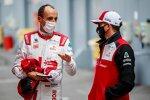 Robert Kubica und Kimi Räikkönen (Alfa Romeo)