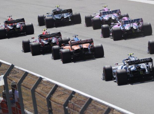 Max Verstappen, Valtteri Bottas, Alexander Albon, Lance Stroll, Carlos Sainz, Sergio Perez, Pierre Gasly