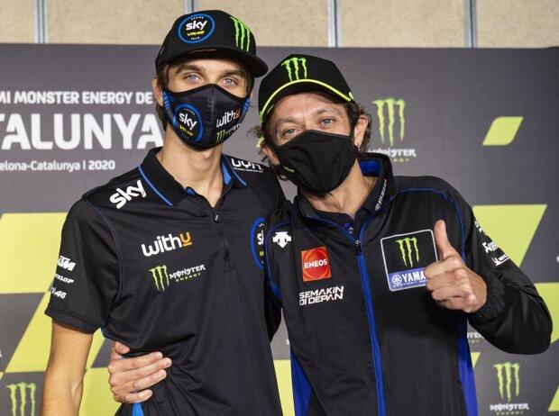 Luca Marini, Valentino Rossi
