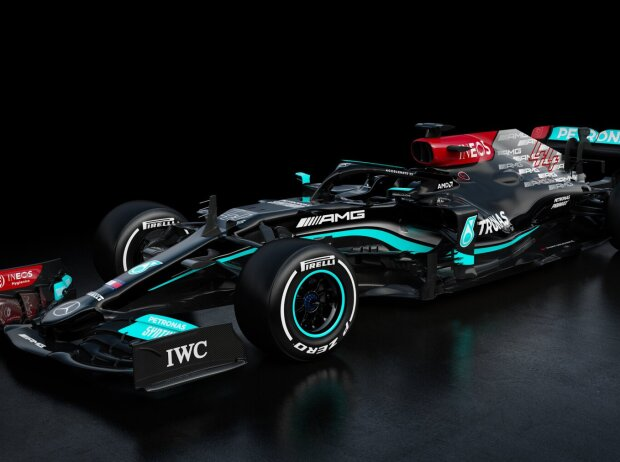 Präsentation Mercedes F1 W12 (2021)