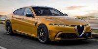 Große Alfa Romeo Limousine: Rendering zeigt BMW 5er-Rivalen