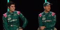Lance Stroll, Sebastian Vettel