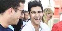 "Juan Manuel Correa: Formel-3-Comeback das Ergebnis ""harter Reha-Arbeit"""