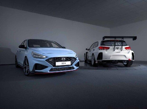 Hyundai i30 N (links) vs. Hyundai i30 N TCR (rechts)