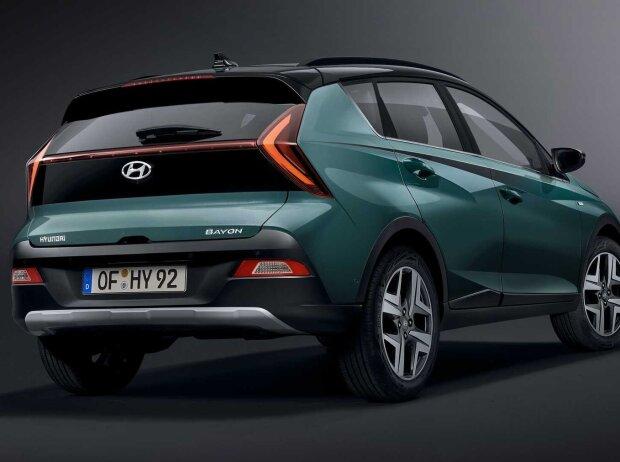 Hyundai Bayon (2021) auf offiziellen Bildern