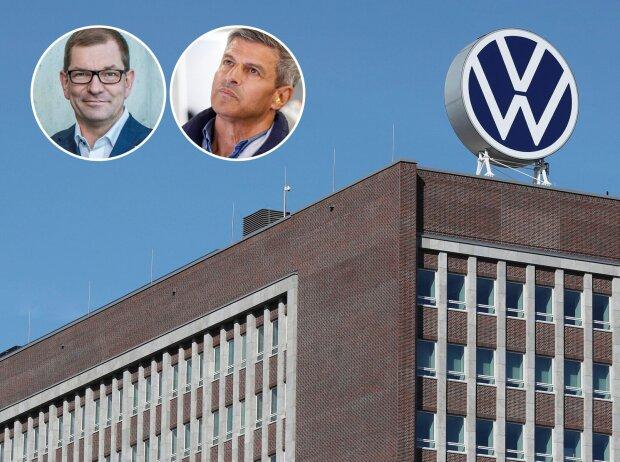 Markus Duesmann, Fritz Enzinger, Volkswagen