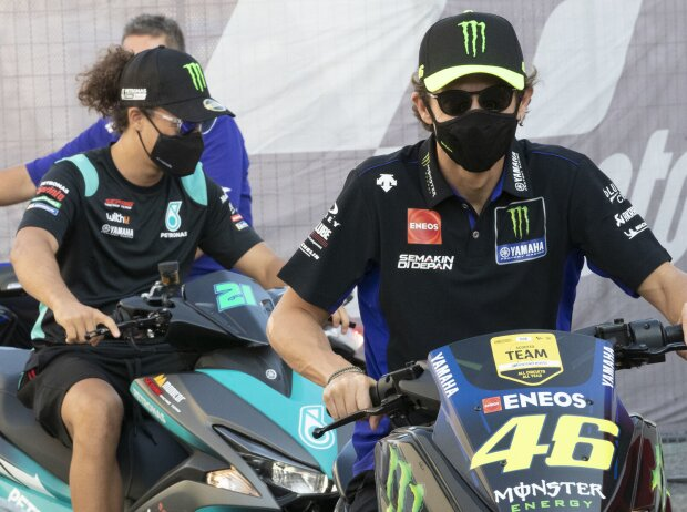 Franco Morbidelli, Valentino Rossi