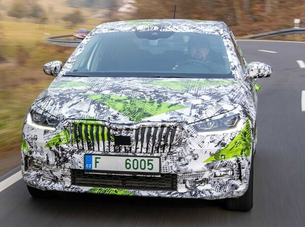 Skoda Fabia (2021) Covered Drive