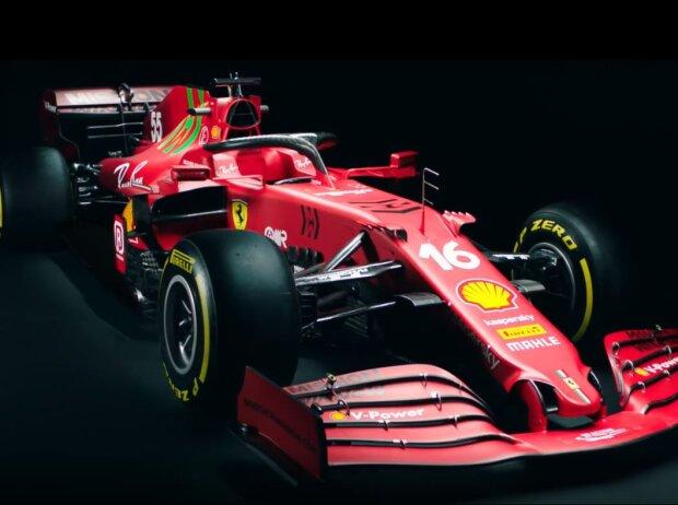 Launch Ferrari SF21