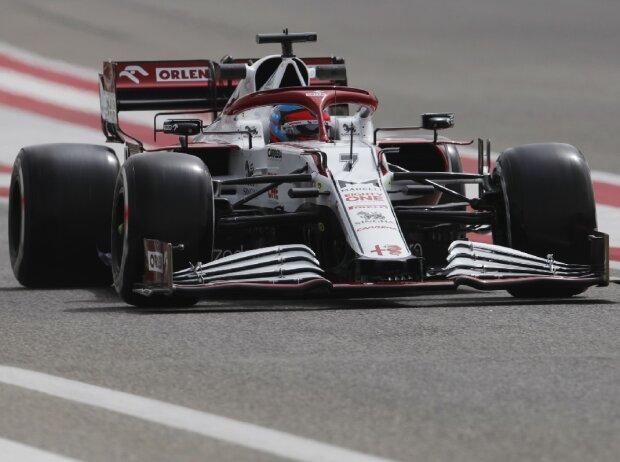 Kimi Räikkönen Alfa Romeo Bahrain Test