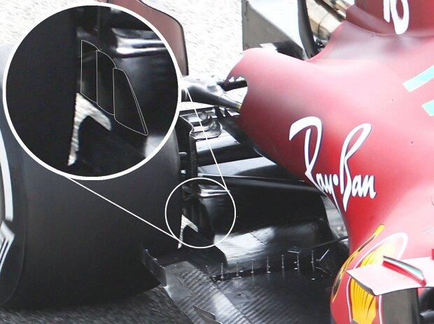 Ferrari SF21, Diffusor