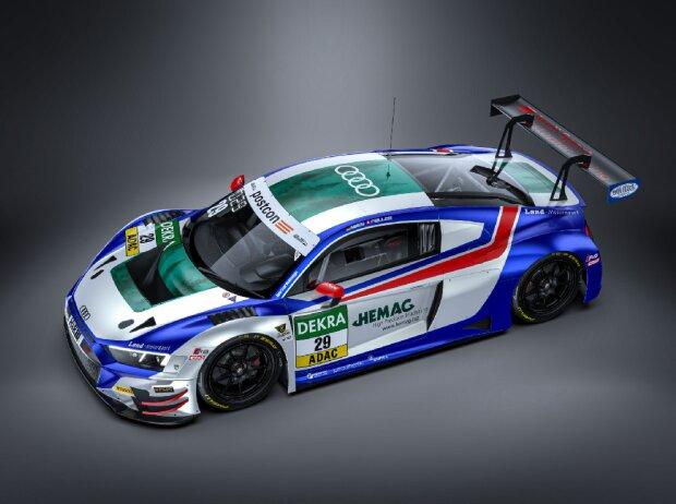 Audi R8 LMS von Land Motorsport für die GT-Masters-Saison 2021