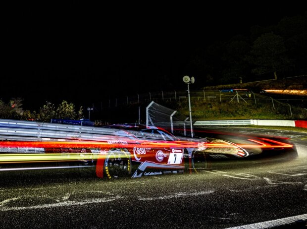 Patric Niederhauser, Mike David Ortmann, Langzeitbeleuchtung 24h Nürburgring 2020