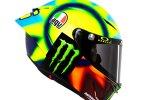 Der neue AGV Pista GP RR von Valentino Rossi