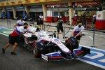 Auto von Mick Schumacher (Haas)