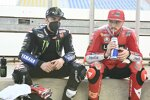 Maverick Vinales (Yamaha) und Jack Miller (Ducati)