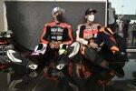 Aleix Espargaro (Aprilia) und Pol Espargaro (Honda)