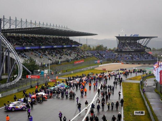 24h Nürburgring, Startaufstellung, Panorama