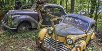 Autofriedhof Old Car City in Georgia