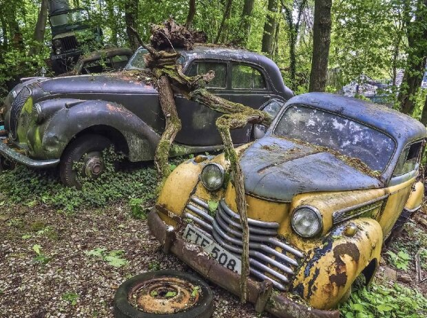 Autofriedhof Old Car City in Georgia
