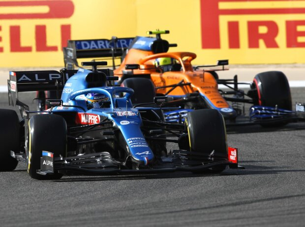 Fernando Alonso, Lando Norris