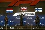 Max Verstappen (Red Bull), Lewis Hamilton (Mercedes) und Valtteri Bottas (Mercedes)