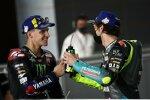 Fabio Quartararo und Valentino Rossi