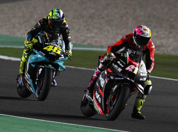 Aleix Espargaro; Valentino Rossi