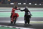 Francesco Bagnaia (Ducati) und Maverick Vinales (Yamaha)
