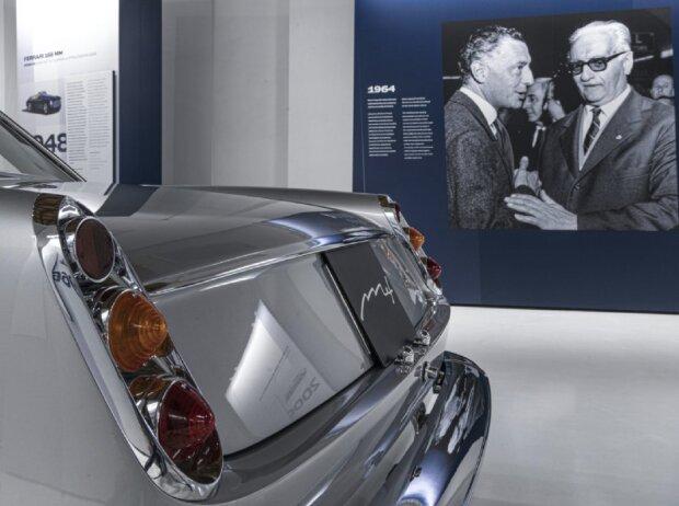 Agnelli-Sonderausstellung im Museo Enzo Ferrari