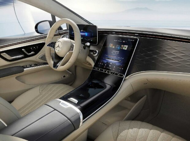 2022 Mercedes EQS Innenraum ohne Hyperscreen