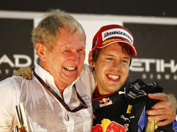 Sebastian Vettel, Daniel Ricciardo, Helmut Marko