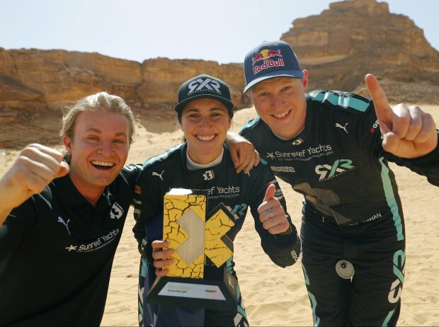 Nico Rosberg, Molly Taylor, Johan Kristoffersson