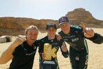 Nico Rosberg, Molly Taylor und Johan Kristoffersson