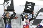 Fabio Quartararo (Yamaha) und Johann Zarco (Pramac)