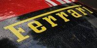 Ferrari-Schriftzug
