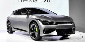 Kia EV6: News, Gerüchte, Tests