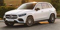 Mercedes GLC Rendering