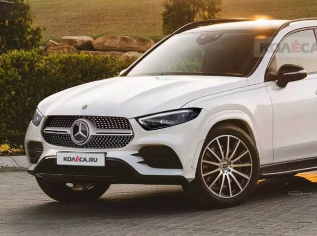 Mercedes GLC Rendering