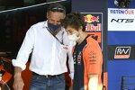 Heinz Kinigadner und Remy Gardner (KTM Ajo)