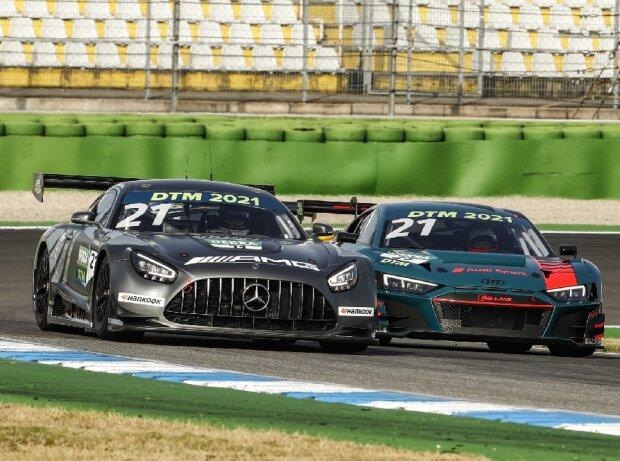 Audi R8 LMS GT3, Mercedes-AMG GT3
