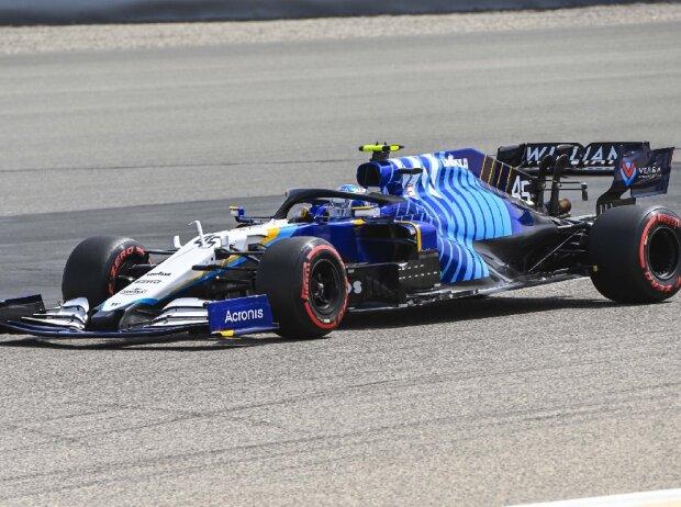 Roy Nissany Williams Bahrain Tests