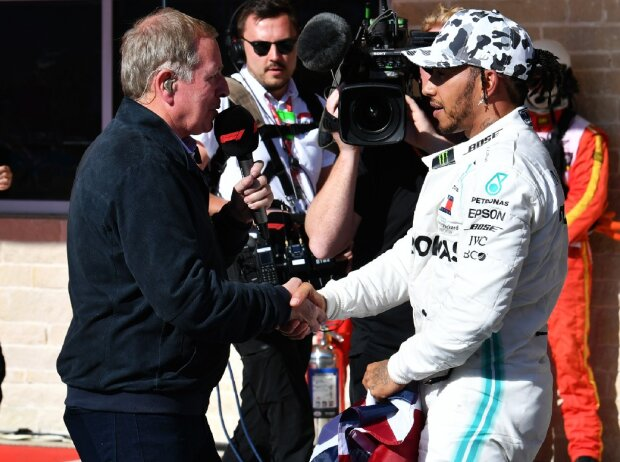 Martin Brundle Lewis Hamilton Interview