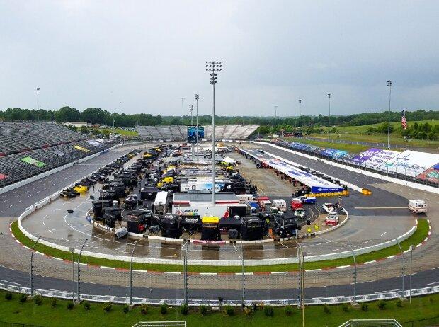 Regen am Martinsville Speedway