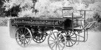 So sieht der erste LKW von 1896 aus