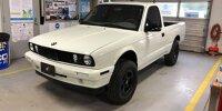 Toyota Tacoma (2001) mit Frontpartie eines BMW 325i von 1987