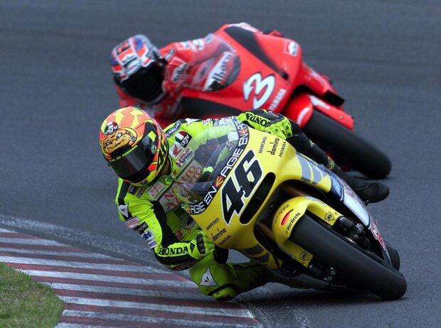 Valentino Rossi, Max Biaggi