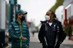 Sebastian Vettel (Aston Martin) und Lance Stroll (Aston Martin)