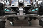 Mercedes W12: Diffusor